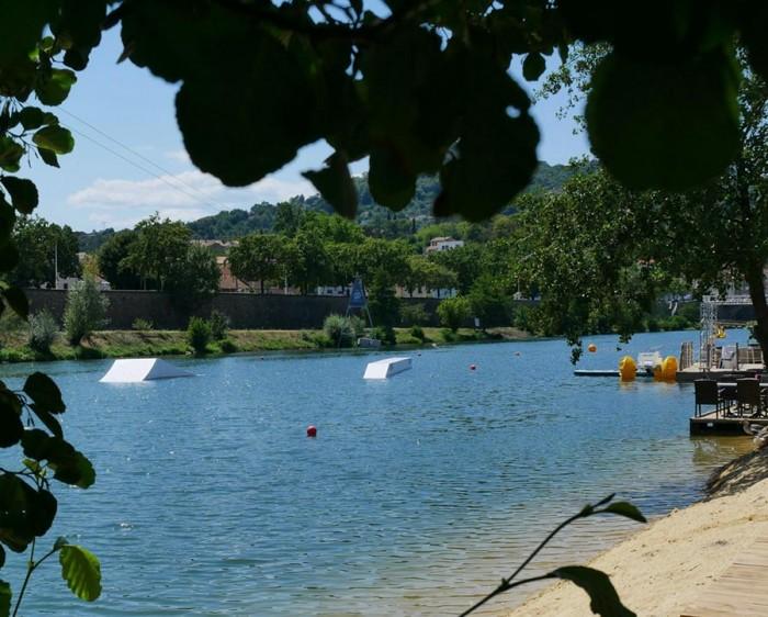 Wake board spot in Gard
