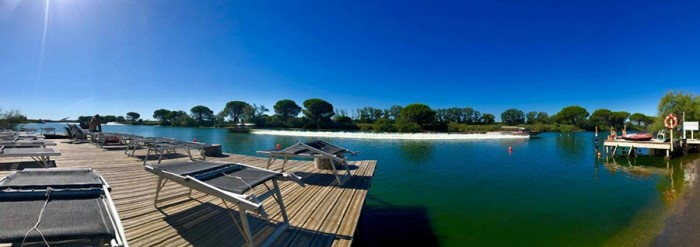 Wakeboard school in Aigues Morte