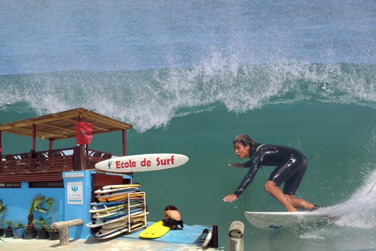 Oudayas Surf Club à Rabat - Sports nautiques