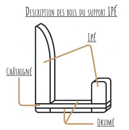 """Type 1"" IPÉ Surf Support - Alt image"