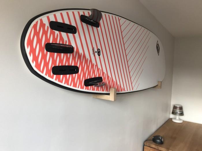 Oak wall surf rack - Alt image