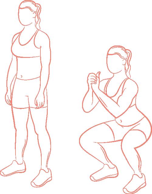 Squats schéma