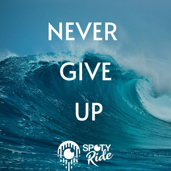 never give up motivation sport