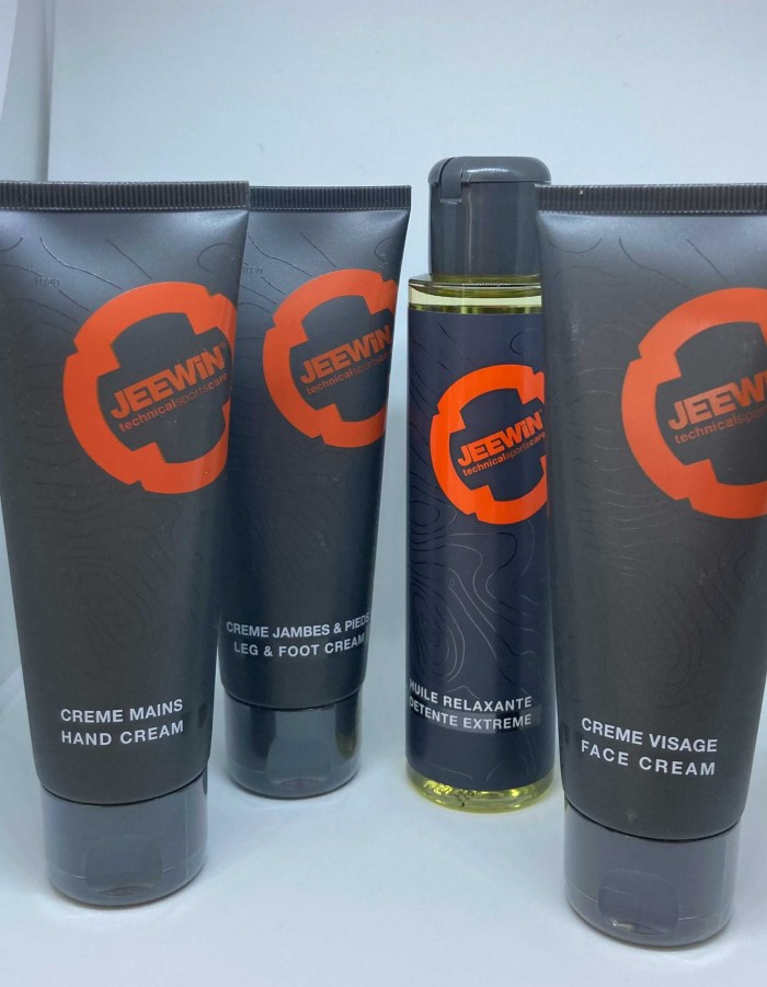 Gamme hydratation Jeewin, produits cosmétiques riches en actifs végétaux