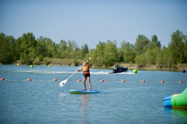 Initiation au stand up paddle avec eXtremride Park