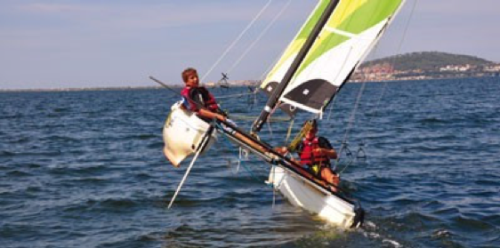 passionate about sailboat