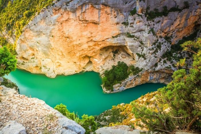 Canoë Gorges du Verdon