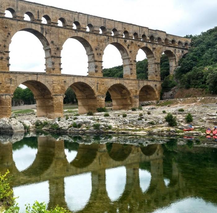 Canoë Pont du Gard
