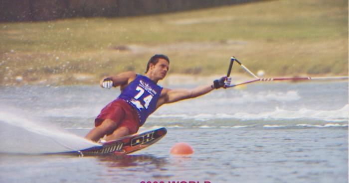 sebastien cans water ski