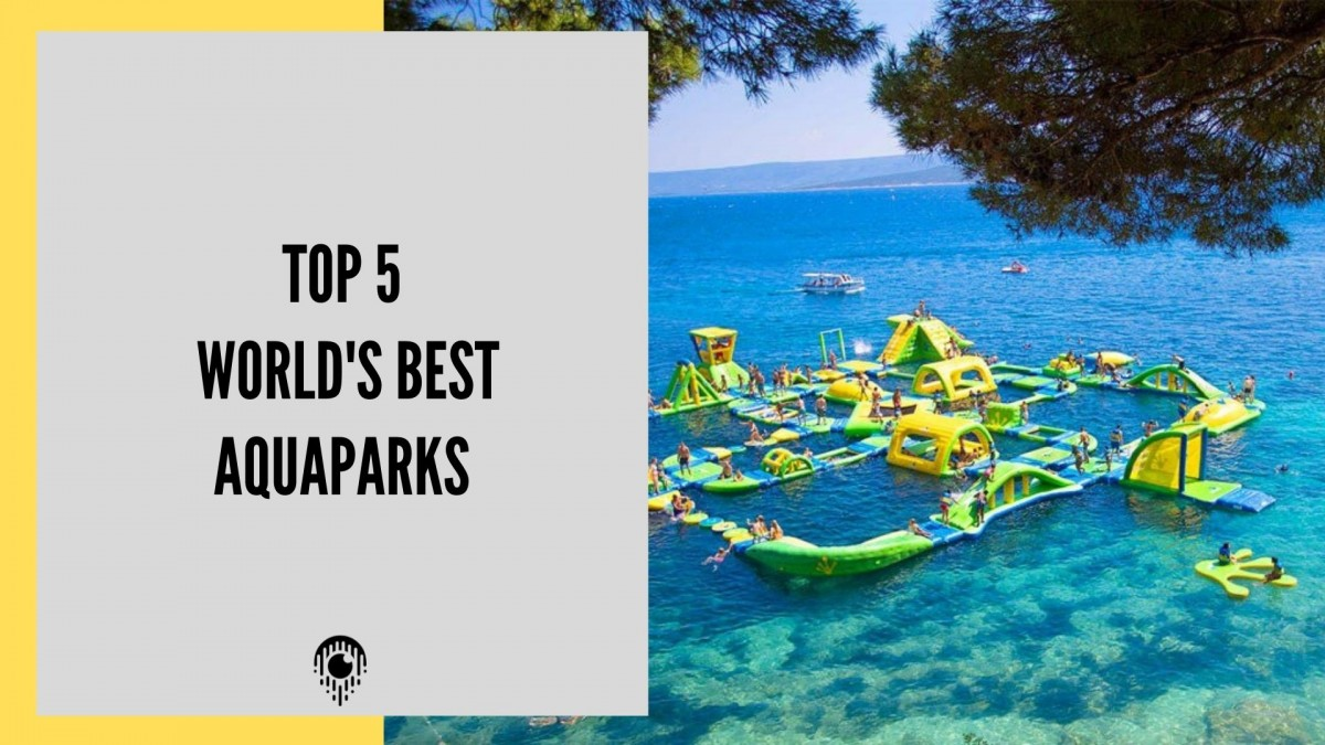 Top 5 of the world's best aquaparks