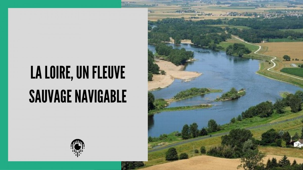La loire, un fleuve sauvage mais navigable
