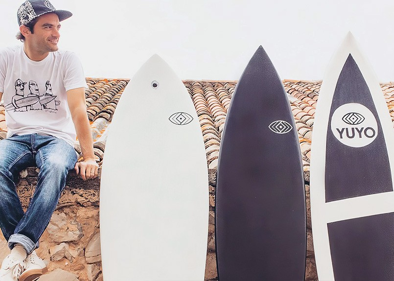 Yuyo Surf, le Surf Imprimé en 3D !