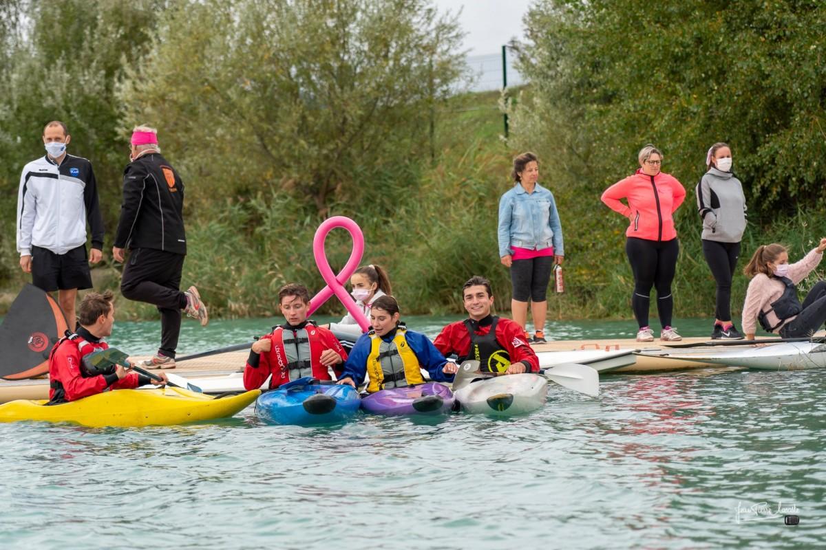 Octobre rose, les acteurs du nautisme se mobilisent