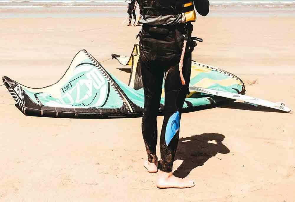 Kitesurf les origines : une histoire entre ciel et mer