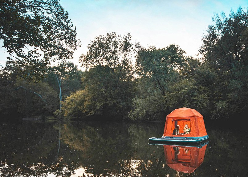 Innovation | Les tentes flottantes Shoal