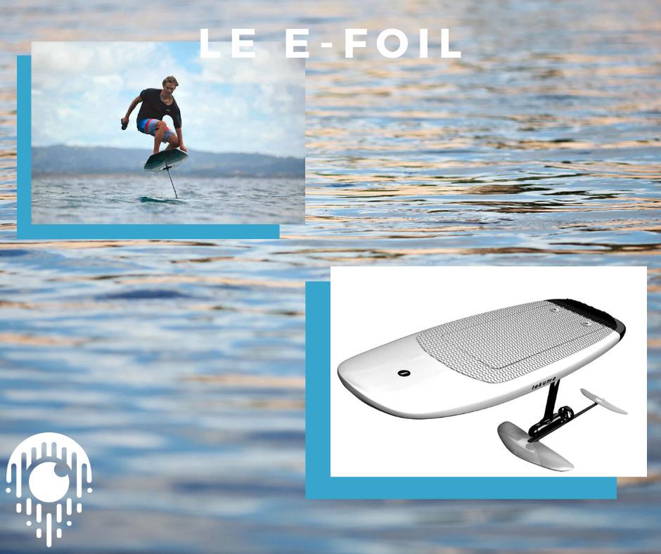 Le e-foil, la technologie qui re-invente le surf