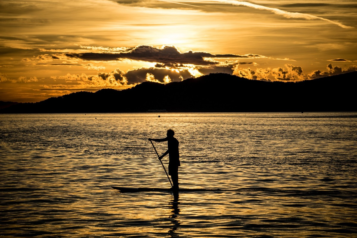 Where do paddle boarding in France?