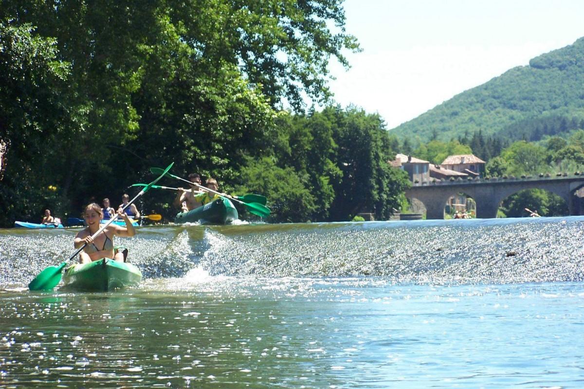 canoe kayak Aveyron