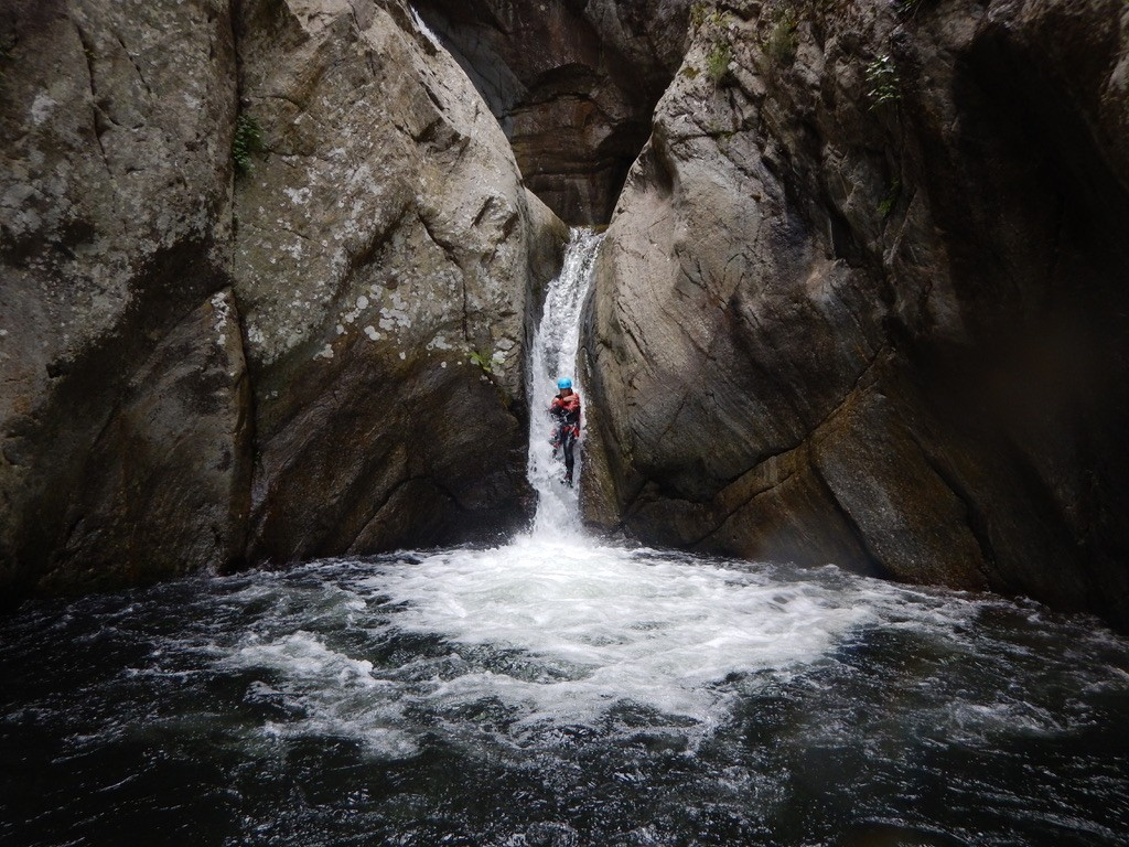 Massif du Canigou canyoning