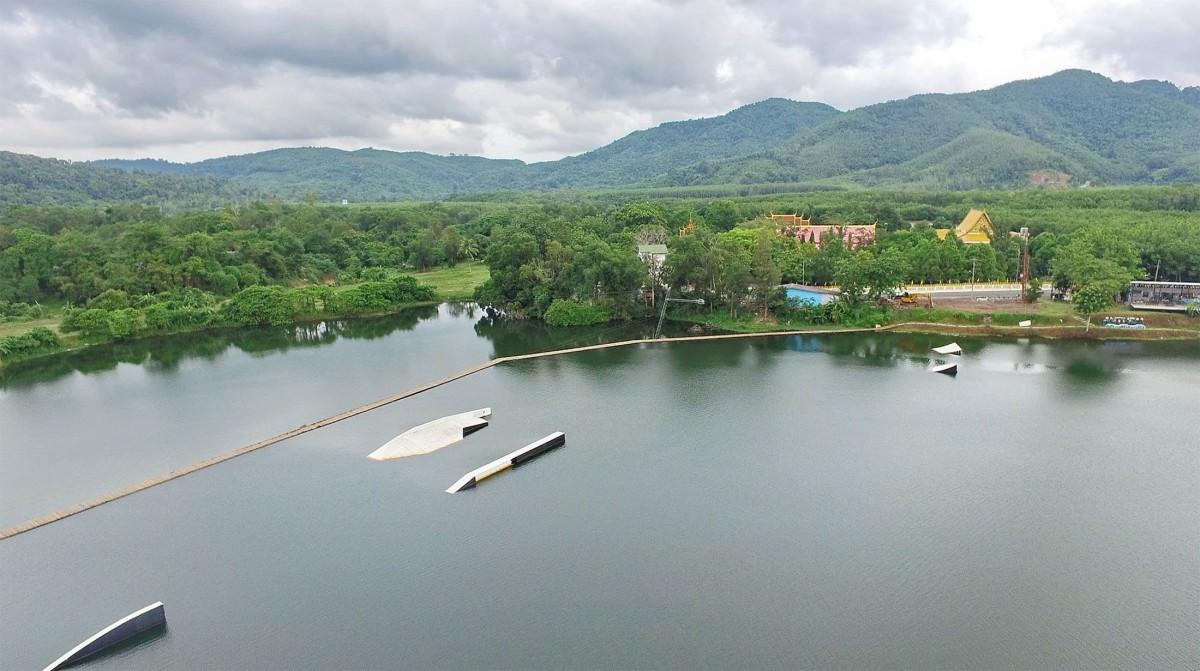 Wakeboard Ouest Thailande