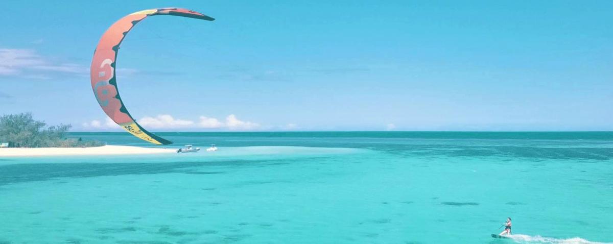 Kitesurf spot in Noumea
