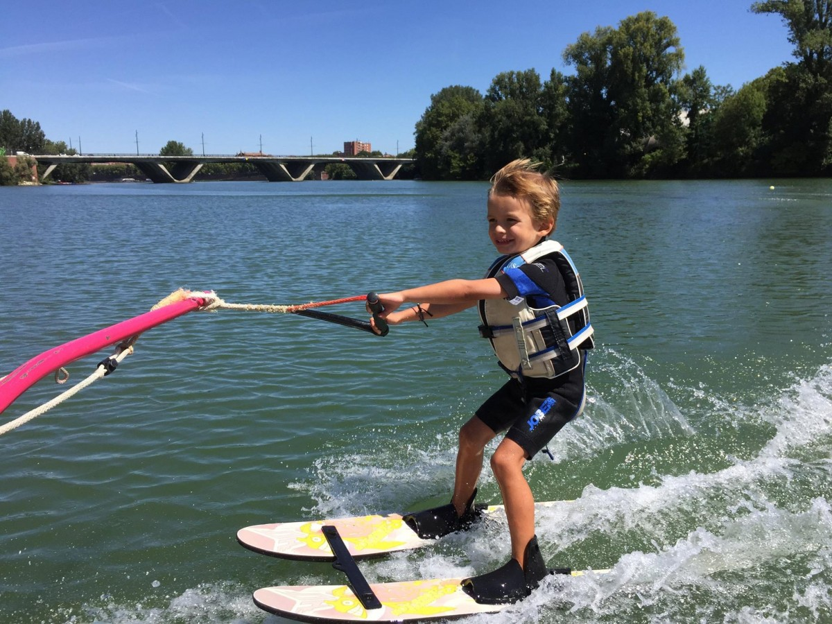 Cours baby ski nautique