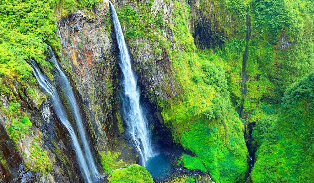 Canyoning on Reunion Island