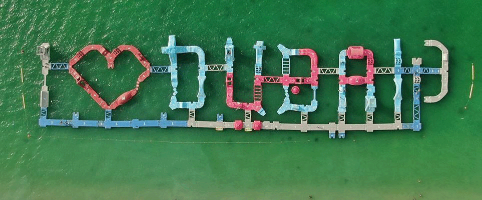 Aquaparc in Dubai