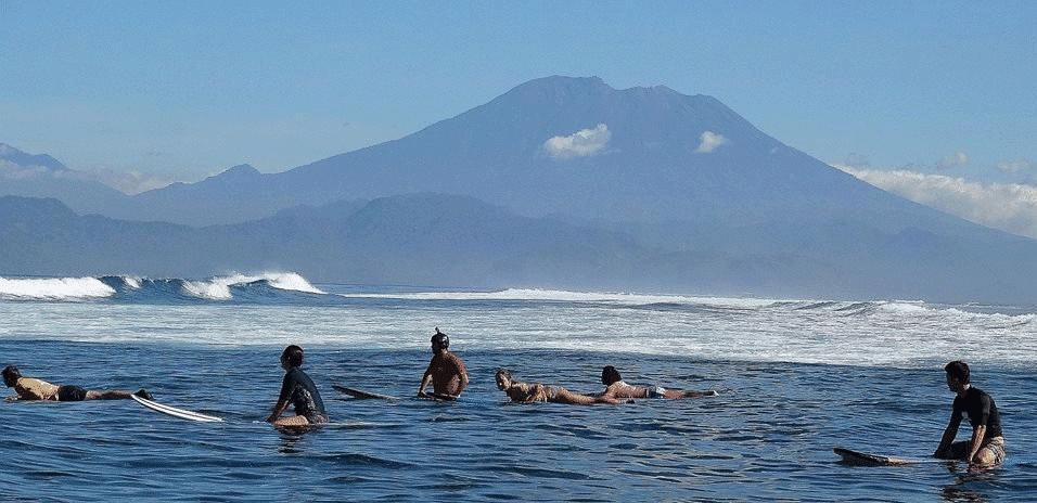 Spot surf Bali