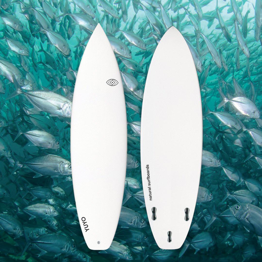 Yuyo surfboard french brand