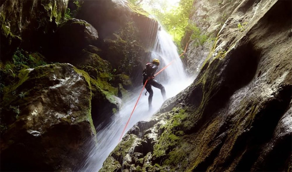 Canyoning en Italie