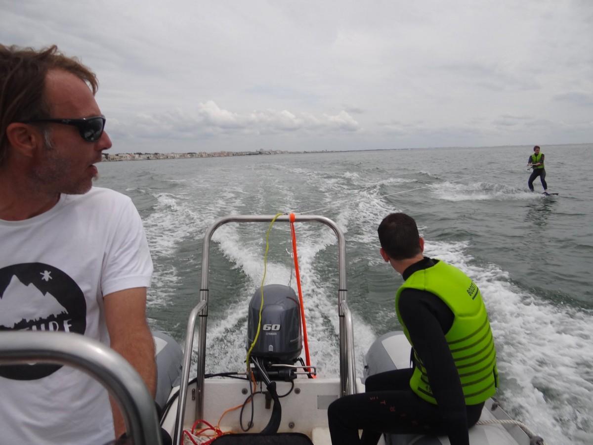 Cours de kitesurf et wakeboard