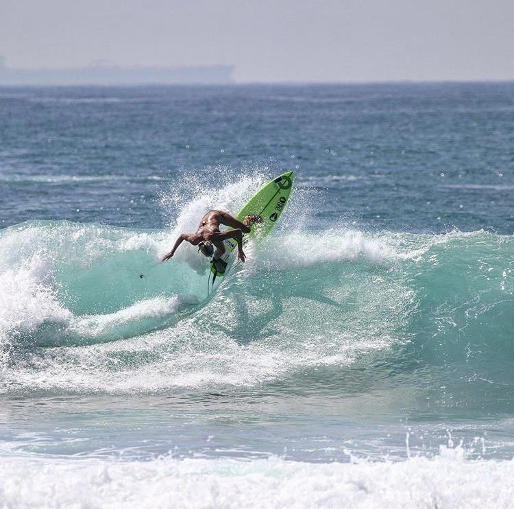 Championne du monde surf