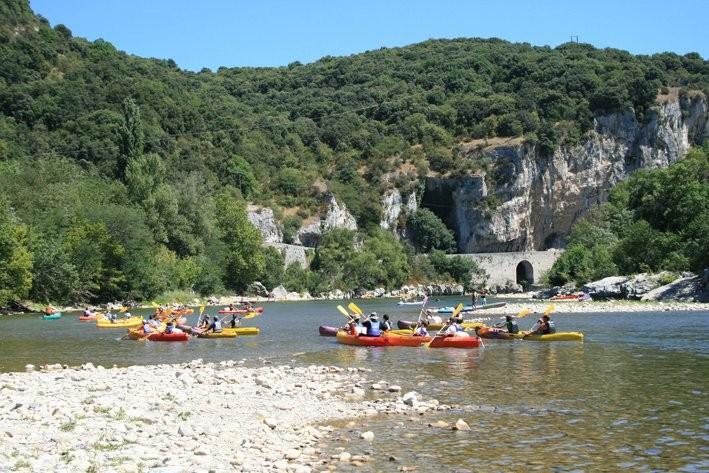 Canoë-kayak in south of France