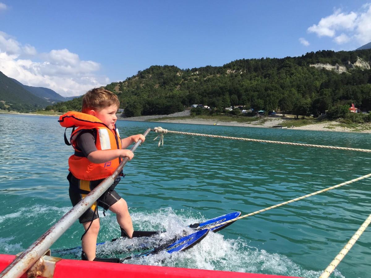Cours ski nautique enfants
