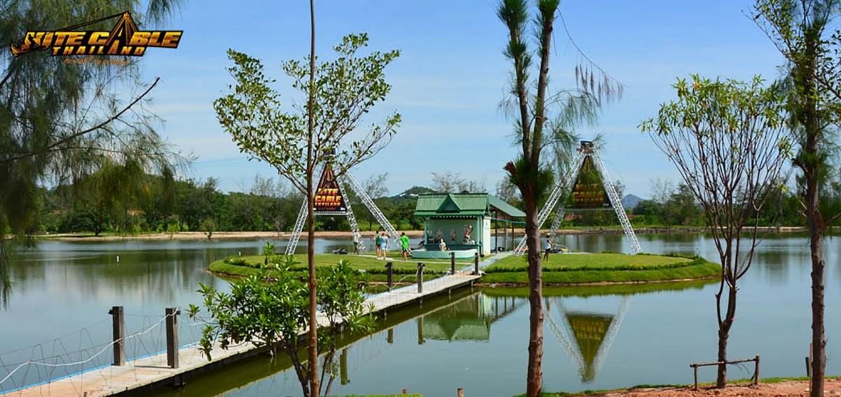 thaïlande wake trip cable wakeboard kite thailand