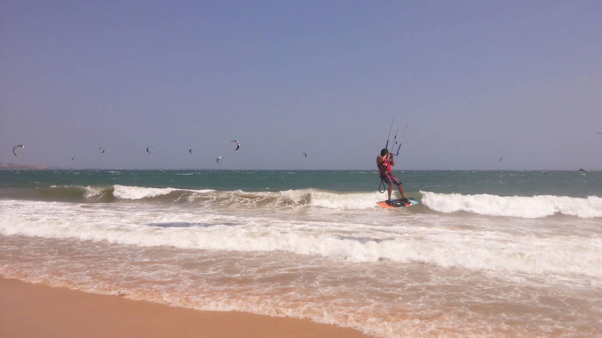 Spot in Vietnam for Kitesurf