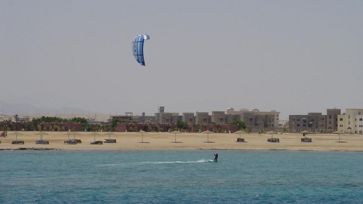 Where kitesurfing in Egypt