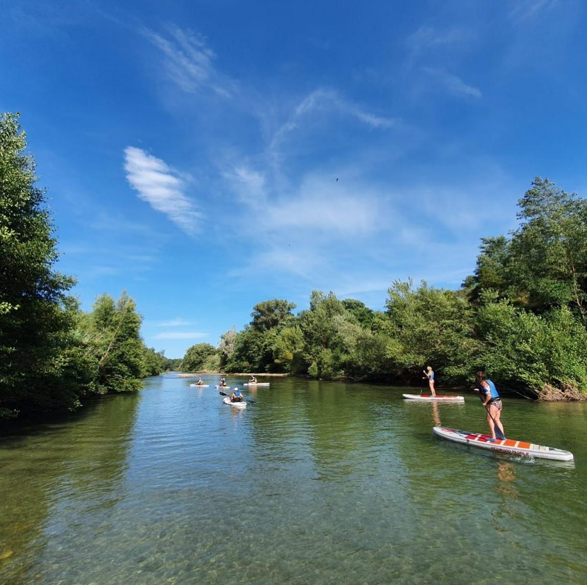 Paddel Riverside Paddle