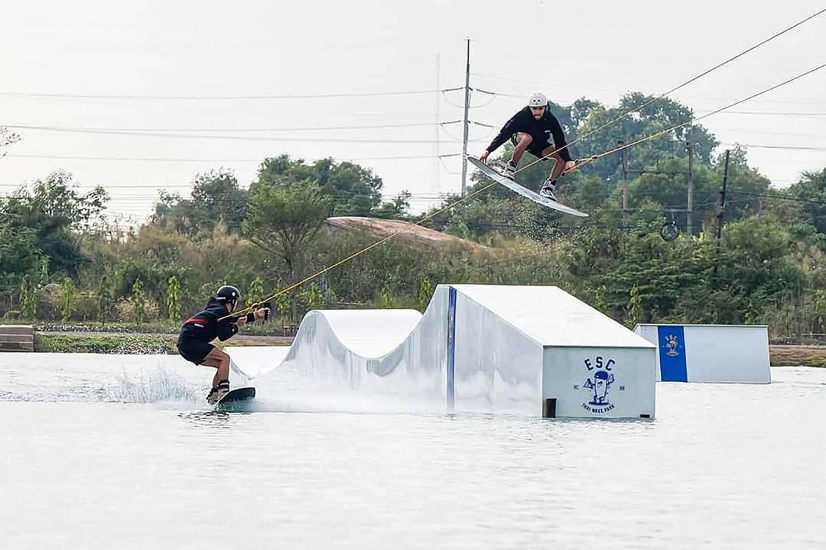 ESC Thai Wake Park thaïlande wake trip